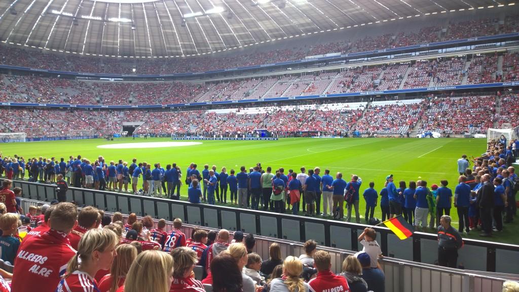 FC Bayern München - Mannschaftspräsentation 2014