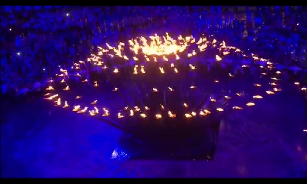 Olympia - Flamme von 2012 in London